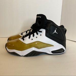 Nike Air Jordan B'Loyal Basketball Sneakers Gold